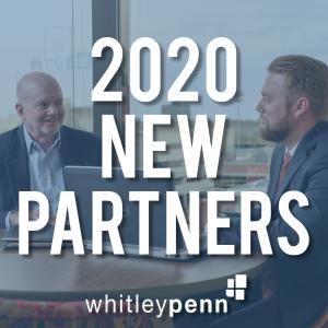 Whitley Penn Announces 2020 New Partners