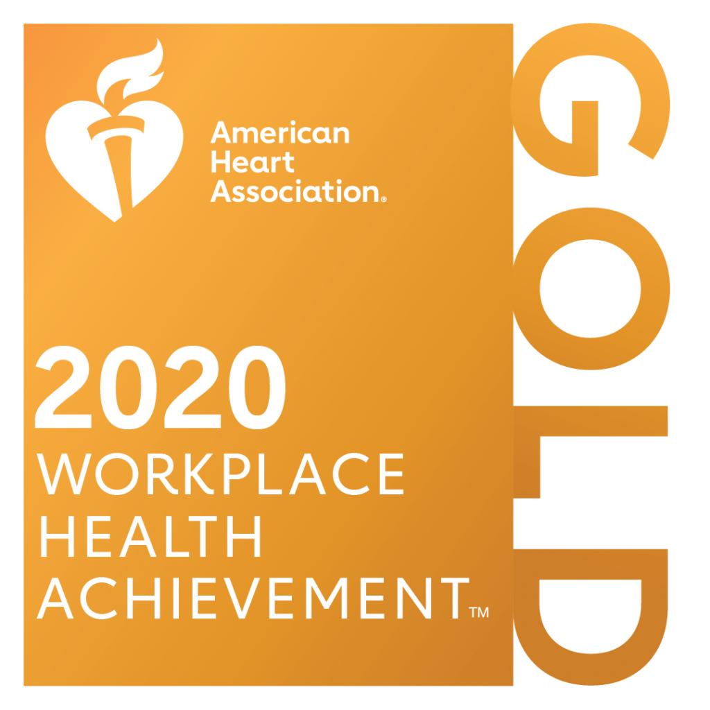 American Heart Association 2020 Workplace Health Achievement