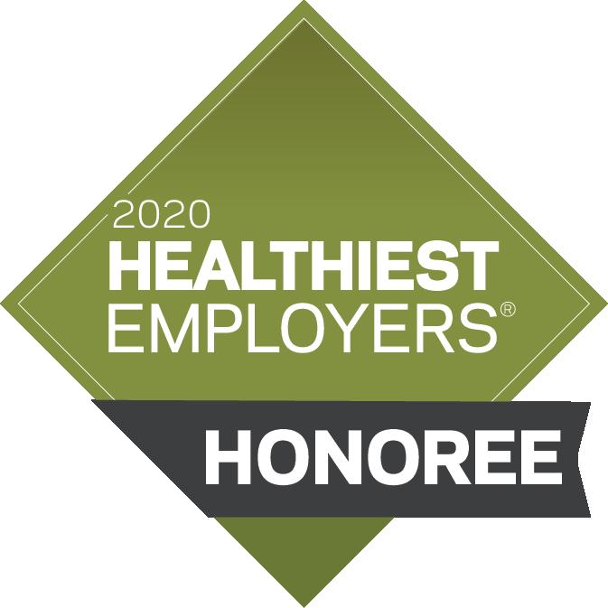 2020 Healthiest Employers Honoree