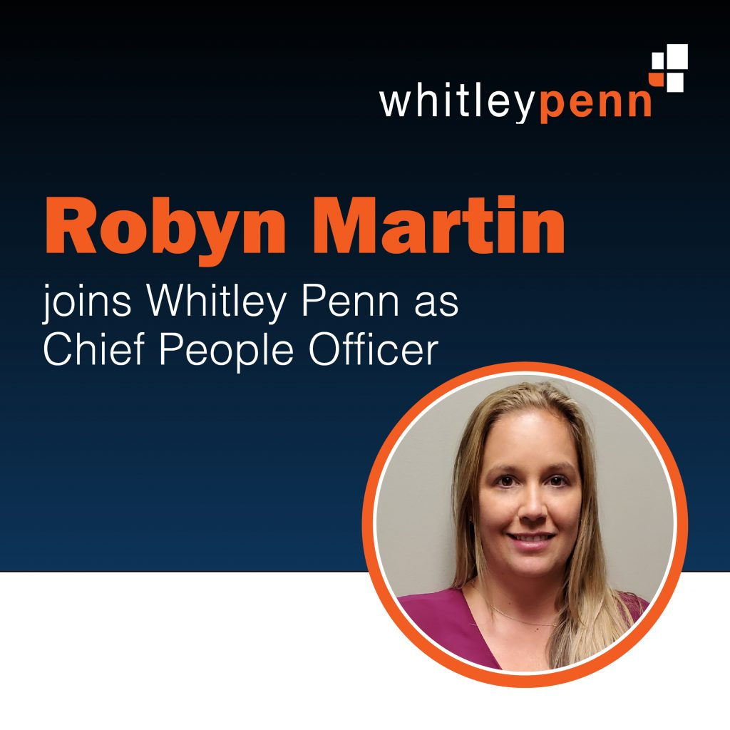 Robyn Martin Joins Whitley Penn As Chief People Officer
