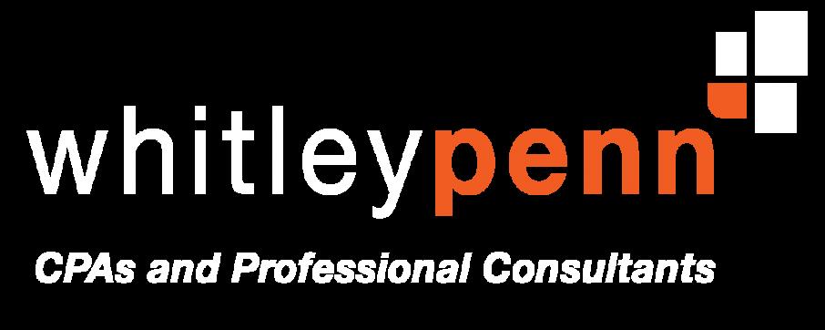whitley penn orange and white logo