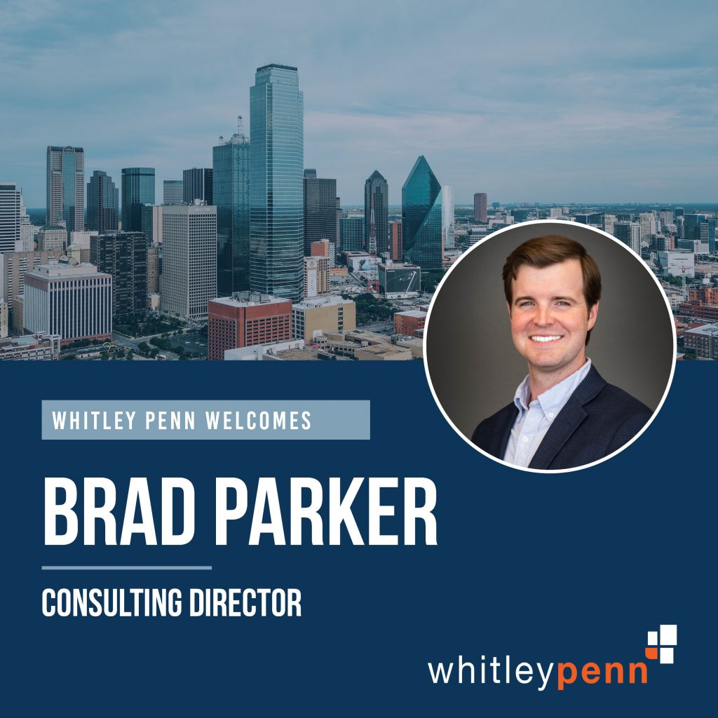 Brad Parker joins Whitley Penn as Consulting Director