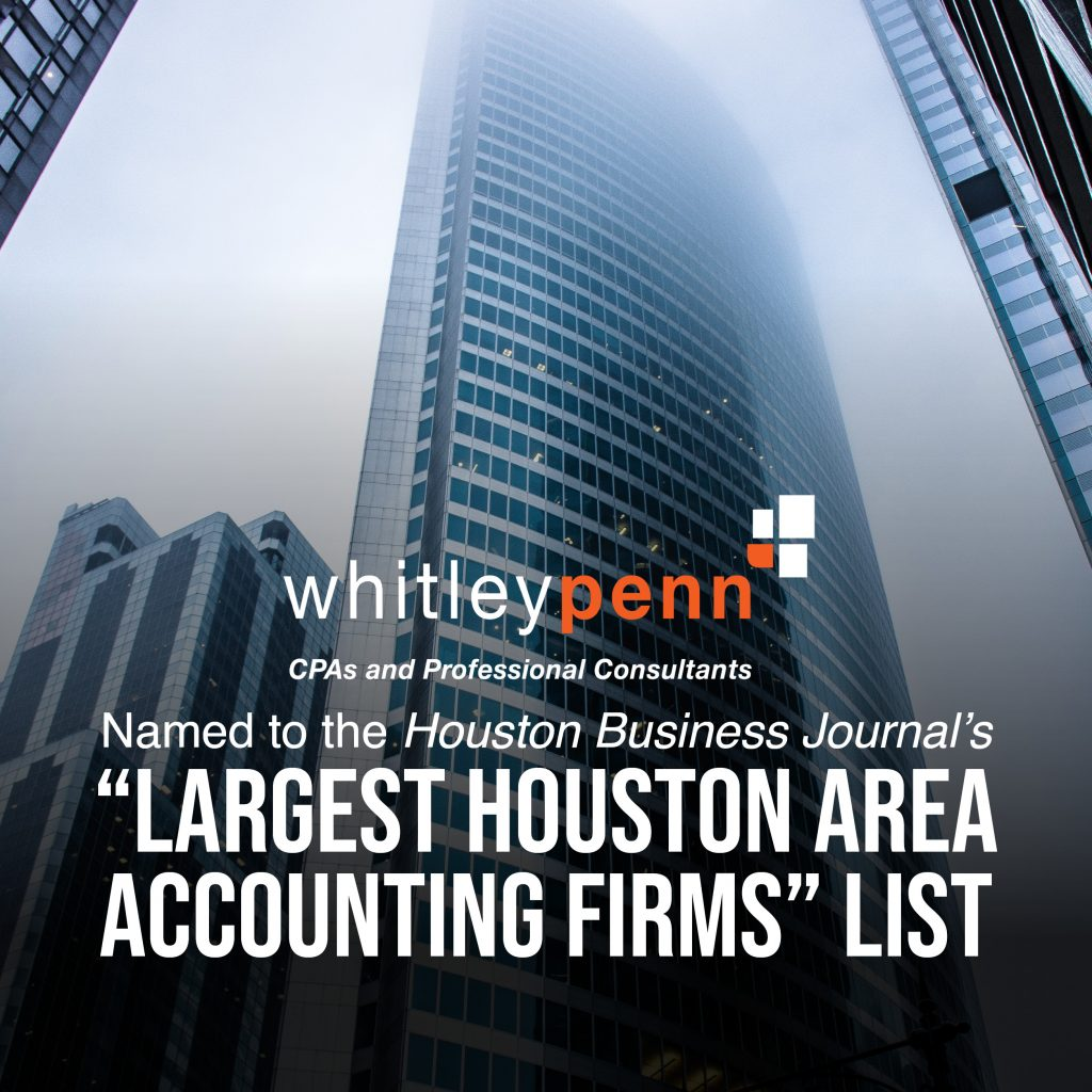 Largest Houston Area Accounting Firms Ranking