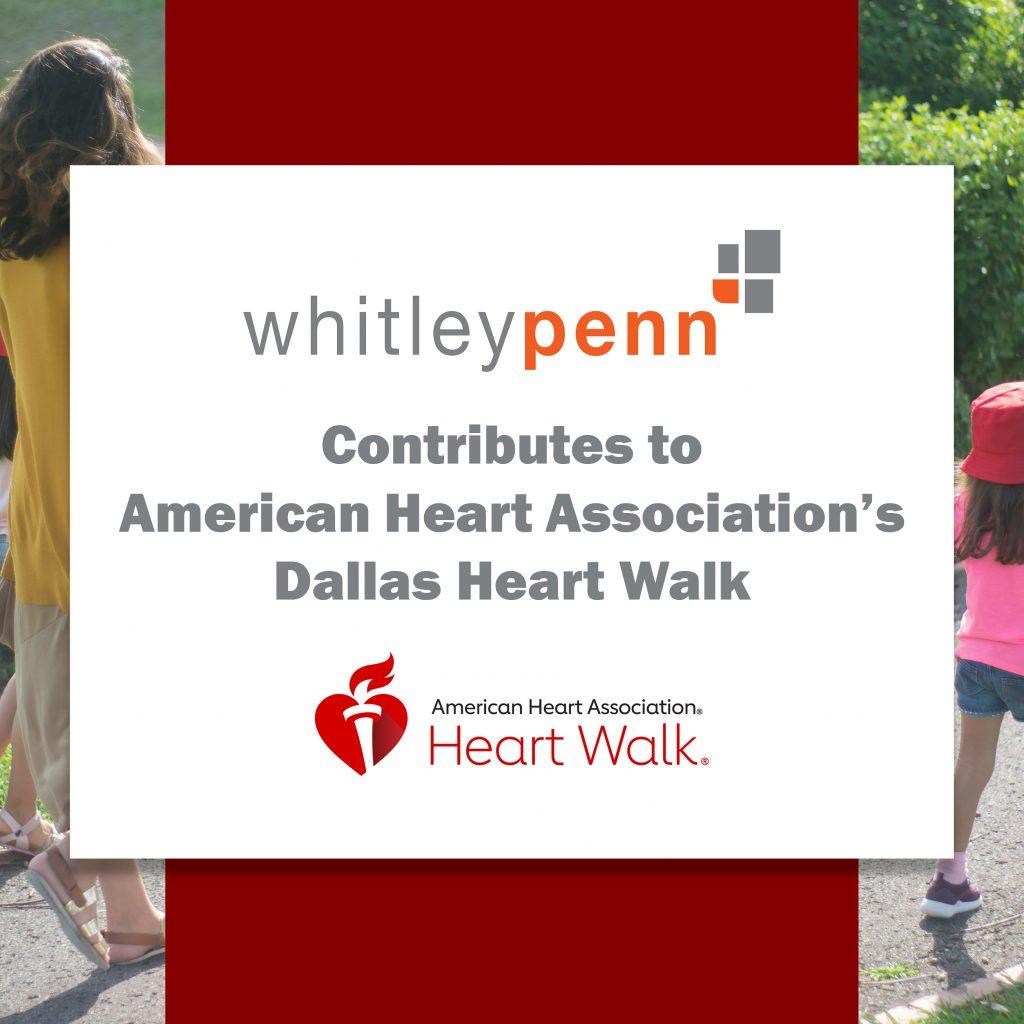 Whitley Penn Contributes to AHA
