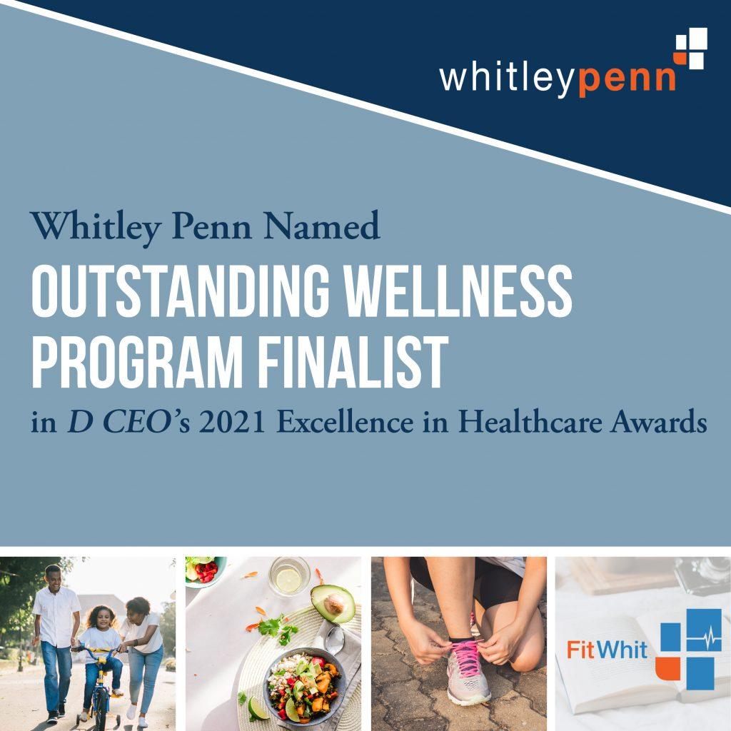 D CEO Outstanding Wellness Program Finalist